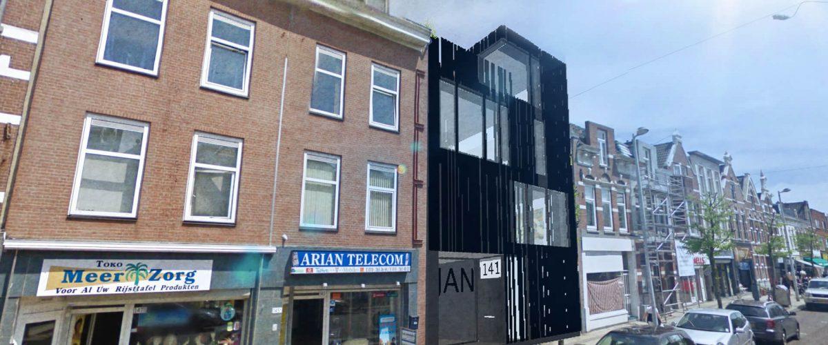 De Zwarte Jan in Rotterdam Noord