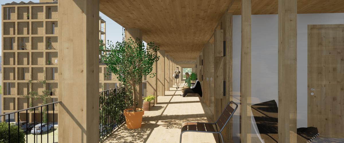 Design Wearearchitects  Render by B2B